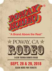 Enter to win Poway Rodeo Tickets